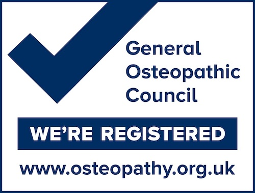 We're registered with the General Osteopathic Council. See more at osteopathy.org.uk